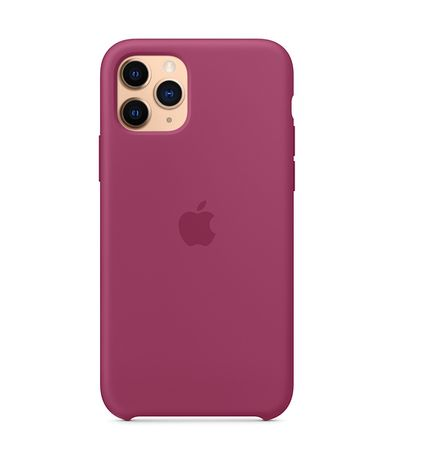 Силиконов Кейс Apple с лого за iPhone 12/Pro/Max/Mini/11/XS/XR/SE/7/8