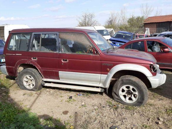 Продавам Mitsubishi Pajero 2.8 JLS на части