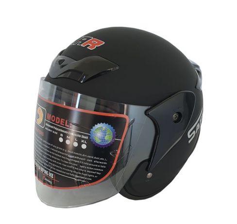 Каска за мотор - 2405 черен мат НОВО !!!