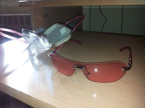 Детски слънчеви очила-розови
