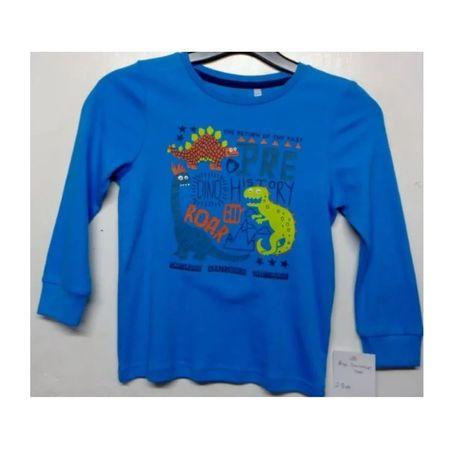 Блузка с динозаври, 3-6 години
