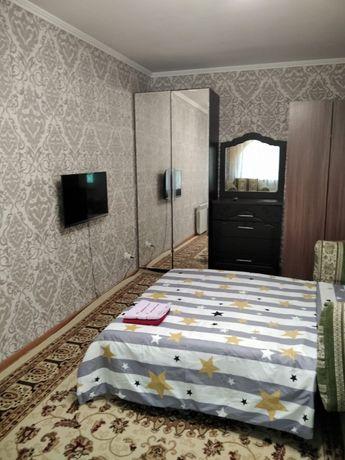 Квартира на сутки 1 комн. на абая 134