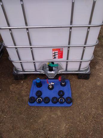 Cub,Bazin 1000 litri ,,,Reductie,Robinet,adaptor ibc .