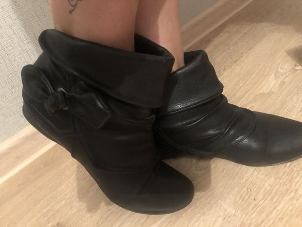 Ботинки демисезонные размер 36