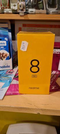Vand/ Schimb Realme 8 5G 64/4 gb*Rate*Garantie*Factura*Albastru