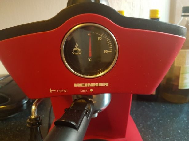 Espressor manual Heinner Retro Effect HEM-200, 800W, 5 bar, 0.25l, Ros