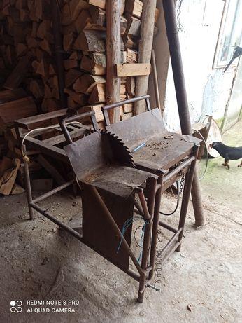 Circular de tăiat lemne fara motor