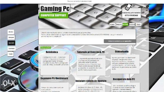 Depanare / configurare PC gaming, optimizare, formatare, securizare in