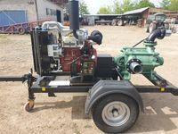 NOU!!! Motopompa diesel 100CP, pompa MultiStage 9,5 bar - 150m3 debit