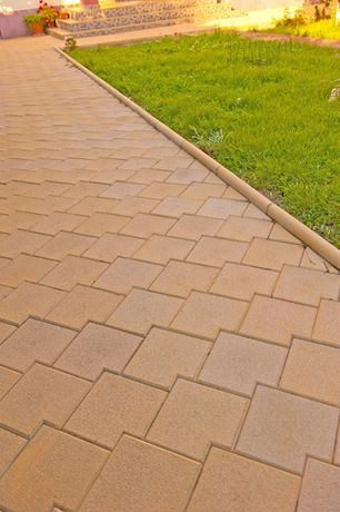 Fabrica de pavaje din beton - model solzi combi neted