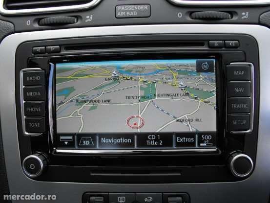 DVD harti navigatie GPS VW Passat Golf RNS 510 Romania 2019 V15 8515