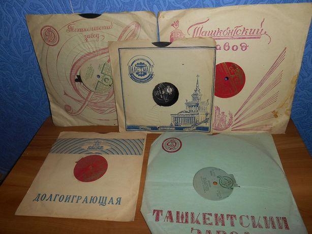 Продам пластинки производство СССР
