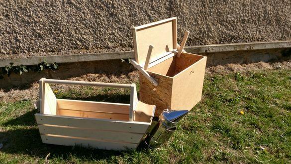 Кутии за отводки,Преносно сандъче за пчели и рамки.Работно сандъче