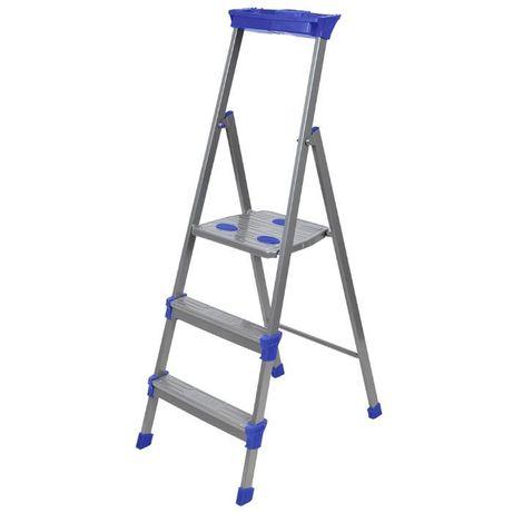 Лестница - стремянка металлическая широкие 3 ступени Nika (Ника) СМ3