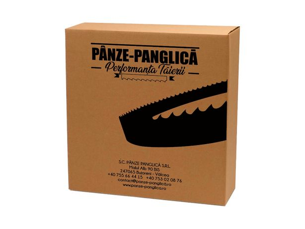 Panza panglica banzic bimetal 1440x13, fierastrau cu banda metal
