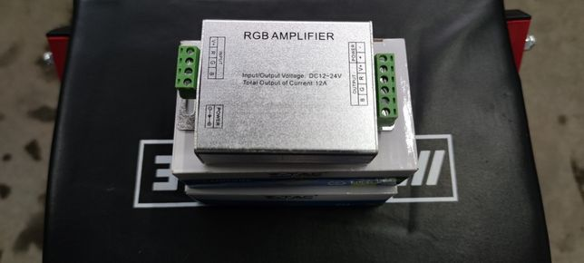 Amplificator banda led RGB / 12A / 12v / 24v