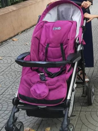 Детска количка KIDDO 3в1+дъждобран+мрежа+бебешки космонавт+чувалче