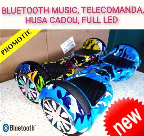 Hoverboard Nou blue camouflage