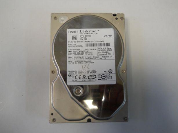Harddisk desktop Hitachi 250GB 8MB 7200rpm SATA2 HDP725025GLA380