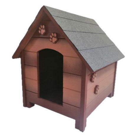 Къща за куче - Кафява,размер Л -Къщи за кучета ,Колиби за кученца