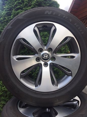 Jante Hyundai 18 Santa fe Tucson ix35 IMPECABILE Anvelope vara