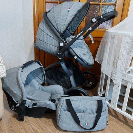 Продам коляску SKILLMAX 3в1