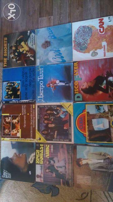 Виниловая пластики 80-х LP