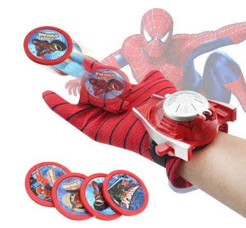 Ръкавица с изтрелване Спайдърмен