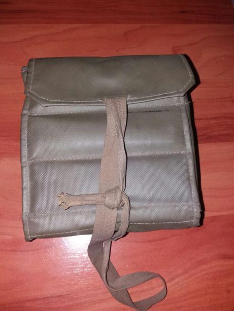 Geanta veche militara Lupress pentru lustruit pantofi si geanta Homa