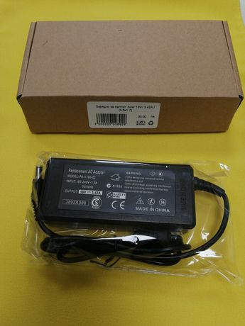 Зарядно за лаптоп Acer 19V/3.42A/(5.5x1.7) заместител 65W