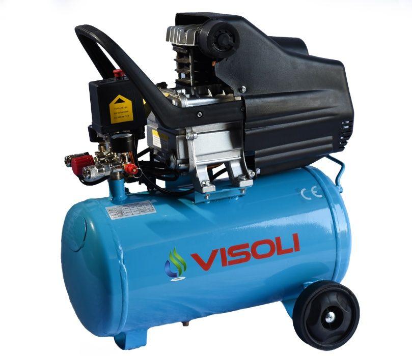 Compresor de aer Visoli24L, 2 CP,1.5 kW Timisoara - imagine 1