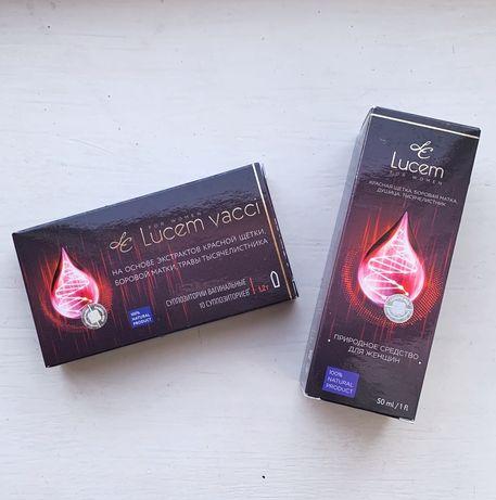 Капли и свечи Lucem vacci