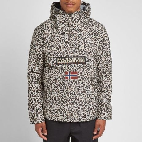 Napapijri Rainforest Winter Pocket Fantasy Leopard Print мъжки анорак