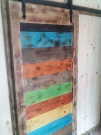 Плъзгащи дървени врати