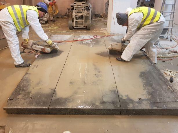 Taiat taiere decupare spart demolat beton,gauri de carota perforari