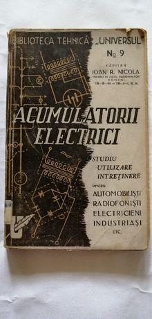 Acumulatorii electrici