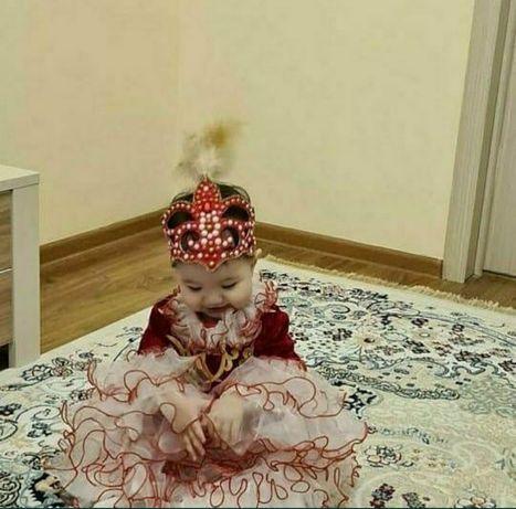 Тусау кесу. Тусау кесер. Национальное платье