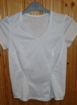 Tricou alb dama Kalenji