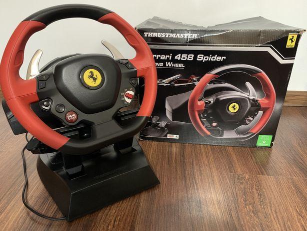 Volan Ferrari - Thrustmaster pentru Xbox