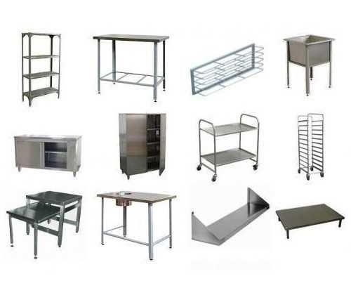 Столы Стеллажи  из нержавеющей стали