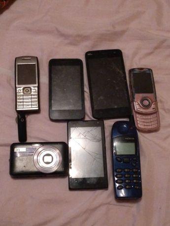 Vând telefoane mobile + aparat de fotografiat