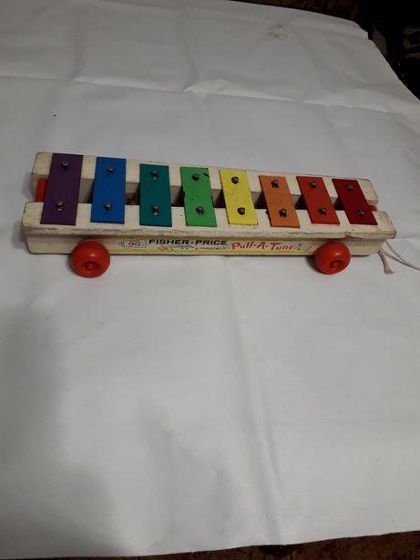 Jucarie pentru copii,Fischer Price,Pull.A.Tune,made in U.S.A.