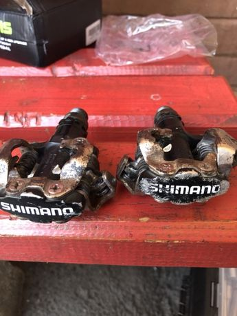 Vand pedale shimano
