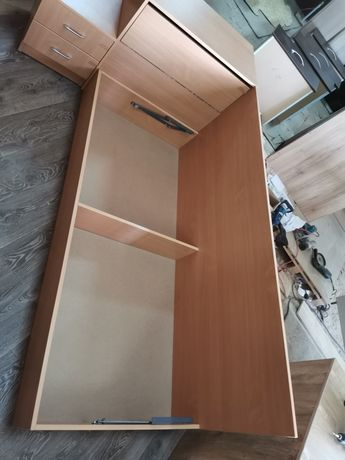 Легло с ракла за матрак 82/190 и нощно шкафче