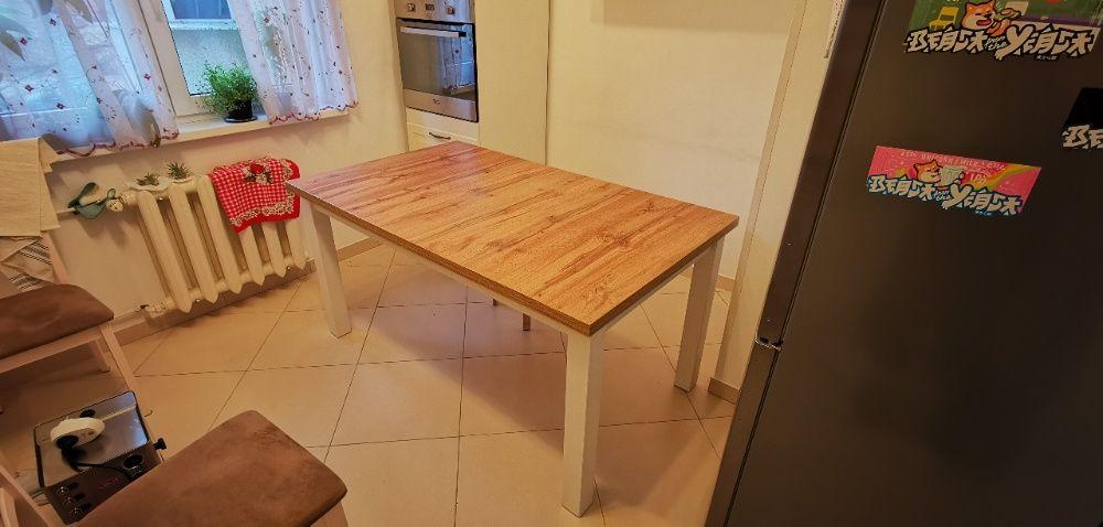 Masa extensibila lemn masiv (pt sufragerie si bucatarie) Bucuresti - imagine 1