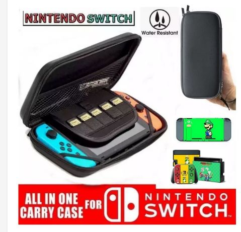 Husa Nintendo switch + Mario Si Luigi Skin Stickers