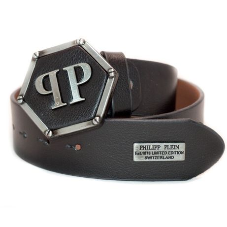 -30% Мъжки колан Philip Pleinn от Естествена кожа 100% нов дизайн