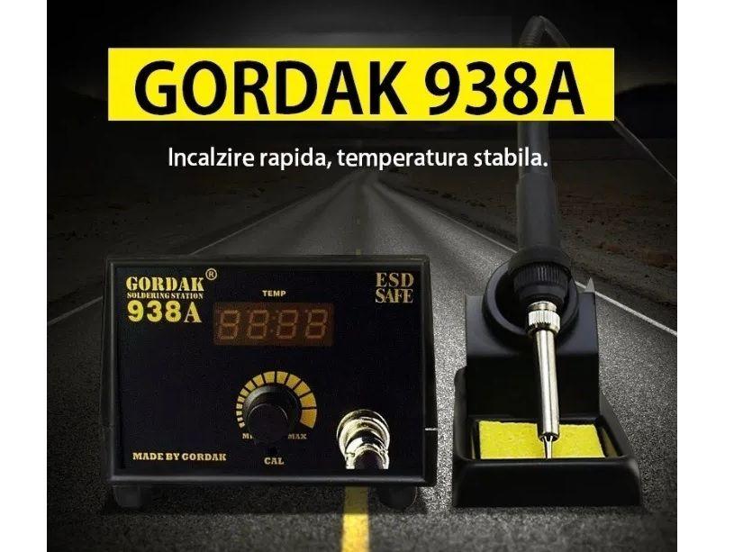 Statie de Lipit cu Letcon GORDAK 938A cu display IMPORTATOR OFICIAL