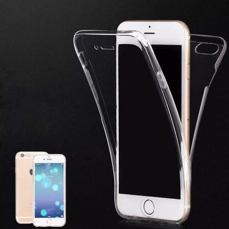Силиконов 360° градуса кейс за Iphone SE 2020 5S 6 6S 7 / 7+ 8 X 10