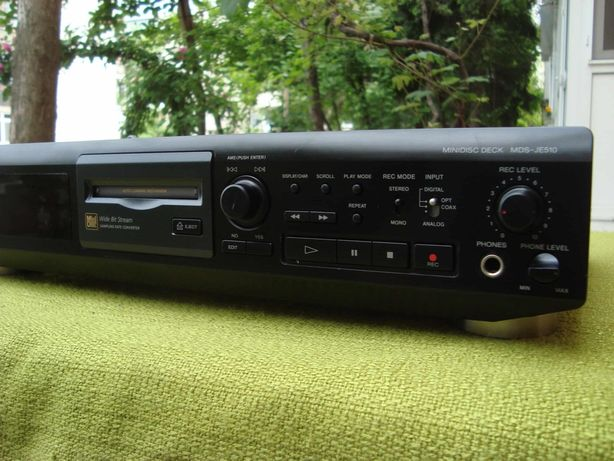 Md sony mds je510 recorder.